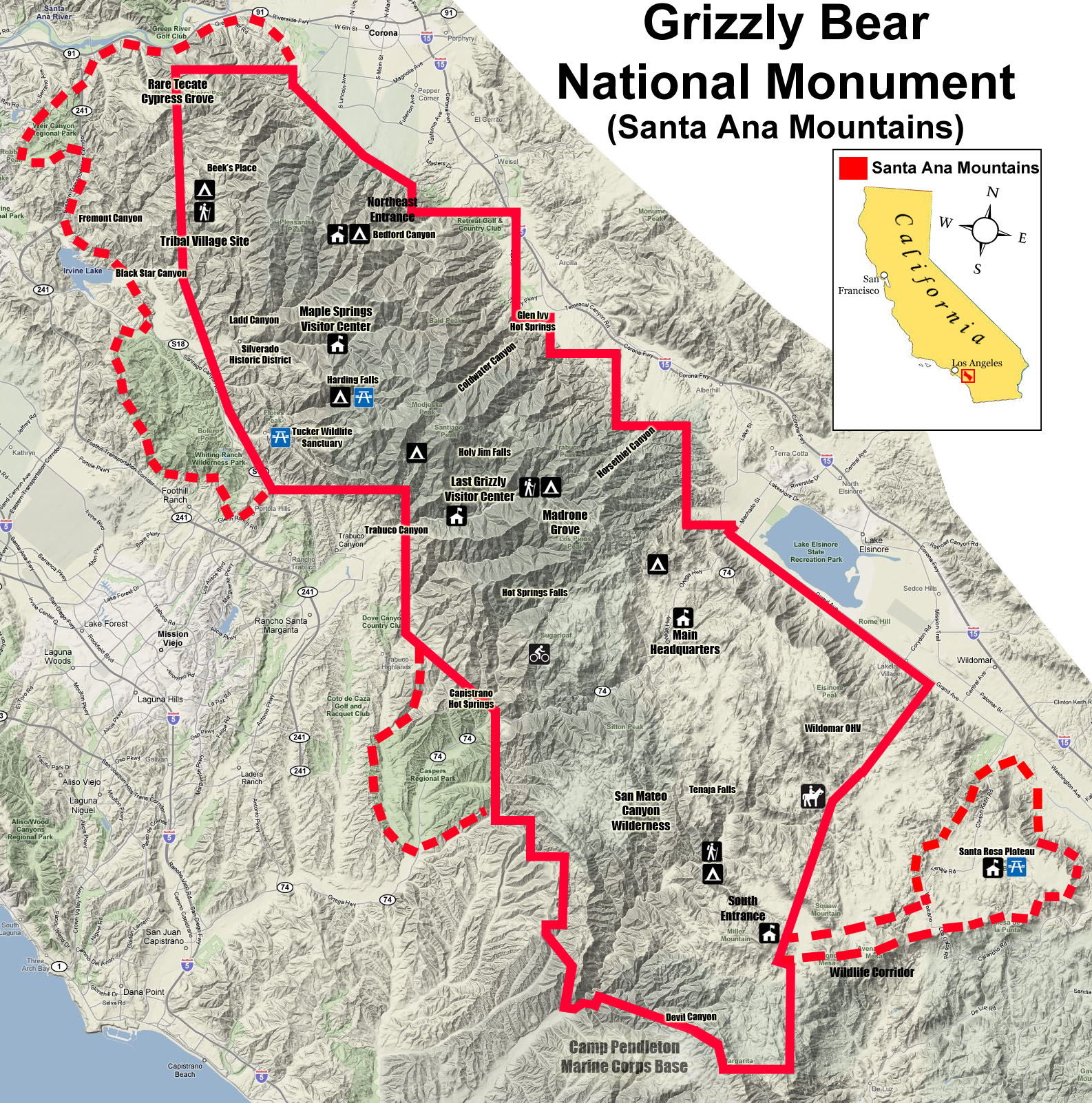 Grizzly Bear National Monument Vision